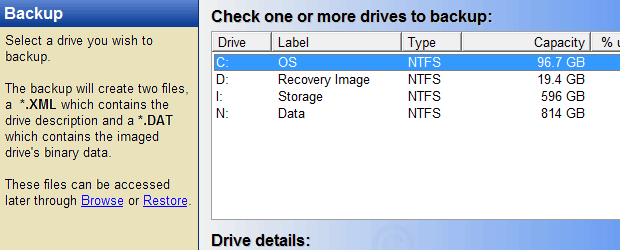 DriveImage XML (Private Edition)