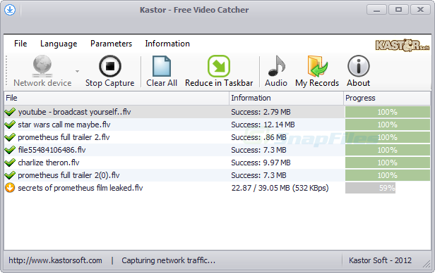 Kastor Free Video Catcher