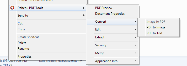 screenshot of Debenu PDF Tools