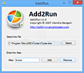 Add2Run screenshot