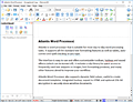 Atlantis Word Processor screenshot
