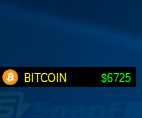 BITCOIN ticker screenshot