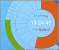 Eusing Clock screenshot
