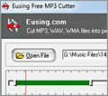 Eusing Free MP3 Cutter screenshot