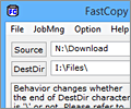 FastCopy screenshot