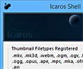 Icaros Shell Extension screenshot