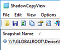 ShadowCopyView screenshot