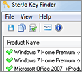 SterJo KeyFinder screenshot
