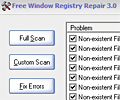 Free Window Registry Repair screenshot