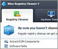 Wise Registry Cleaner Free screenshot