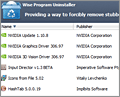 Wise Program Uninstaller screenshot